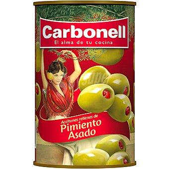 Carbonell Aceitunas rellenas de pimiento Lata 150 g neto escurrido