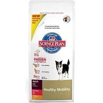 HILL'S SCIENCE PLAN ADULT MEDIUM Healthy Mobility Alimento especial con pollo para favorecer la movilidad para perro Bolsa 12 kg