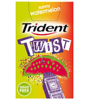 Trident Chicle sandia Twist 20 g