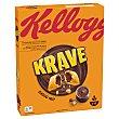 Cereales sabor avellana rellenos de chocolate, krave 375 g Krave Kellogg's