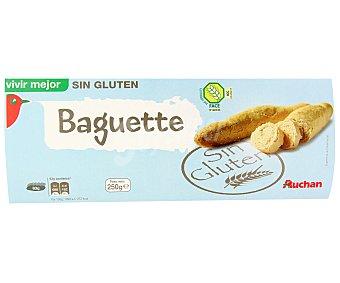 Auchan Baguette sin gluten 250 gramos