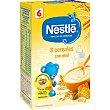Papilla 8 cereales con miel desde 6 meses Caja 600 g Nestlé Papillas