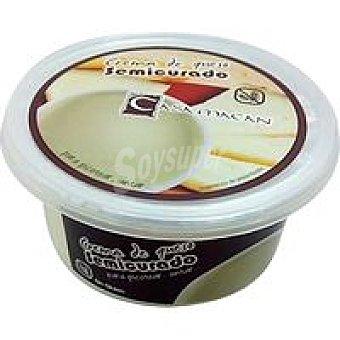 CASA MACAN Crema semicurado Tarrina 125 g
