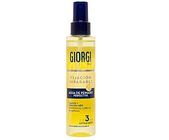Giorgi Line Agua de peinado extrafuerte 3 fijación flexible larga duración 150 mililitros