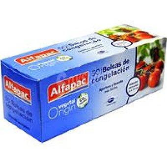 ALFAPAC Bolsa para congelar mediana 22x35 cm Caja 50 unid