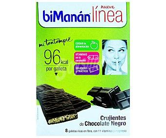 Bimanan Crujis choco negro 160 g