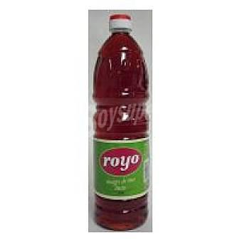 ROYO Vinagre tinto Botella 1 litro