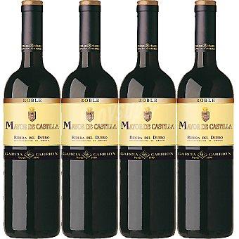 Mayor de Castilla Vino tinto joven roble D.O. Ribera del Duero caja 4 botellas 75 cl
