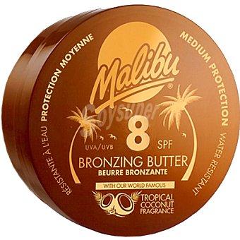 MALIBU loción bronceadora Bronzing Butter FP-8 tarro 250 ml