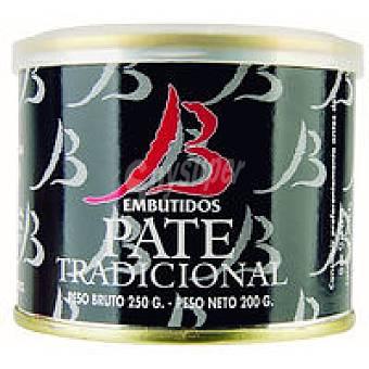 Embutidos Bueyo Paté tradicional Lata 200 g