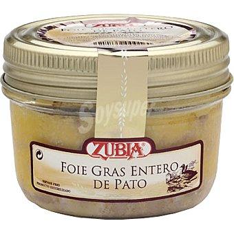 ZUBIA foie gras entero de pato  frasco 130 g