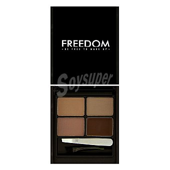Freedom Kit para cejas medium dark Freedom 1 ud
