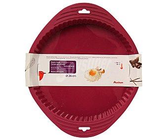 Auchan Molde redondo de silicona antiadherente, 26 centímetros de diámetro 1 Unidad