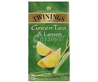Twinings Té Verde al Limón 25 unidades (50 g)