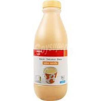 Eroski Basic Batido de vainilla Botella 1 litro