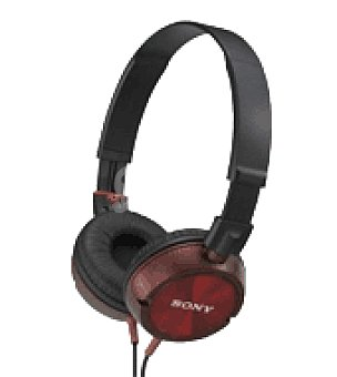 Sony Auriculares MDRZX300R rojo sony