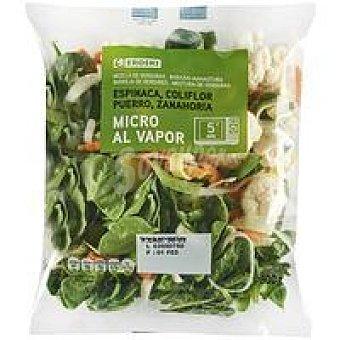 Eroski Mezcla de verduras micro bolsa 300 g