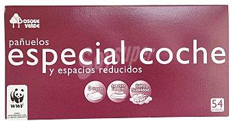Bosque Verde Pañuelos papel especial coche Caja 54 u