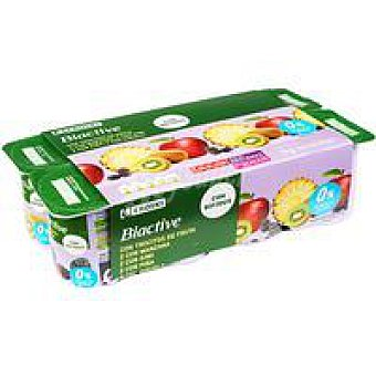 Eroski Biactive 0% con frutas Pack 8x125 g