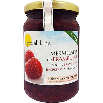 Special Line Mermelada extra de frambuesa con fructosa sin gluten sin azúcar añadido Envase 345 g