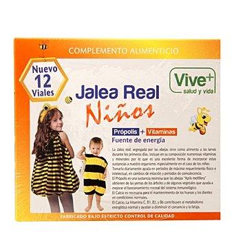 Viveplus Jalea real para niños 12 ud