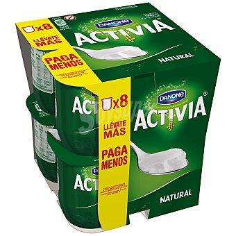 DANONE ACTIVIA Yogur natural pack 8 unidades 125 g
