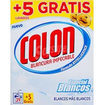 Colón Detergente en polvo ropa blanca Maleta 39+5 cacitos