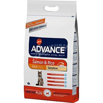Advance Affinity Adult pienso de alta gama para gatos adultos de 1 a 10 años rico en salmón y arroz bolsa 3 kg Bolsa 3 kg