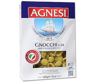 Agnesi Gnocchis Nº 54, pasta de sémola de trigo duro de calidad superior 500 Gramos