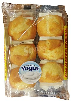 Hacendado Magdalena yogur horno Paquete 12 u (400 g)