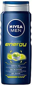 Nivea For Men gel de baño Energy Body & Hair Frasco 500 ml