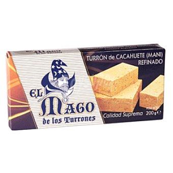 EL MAGO Turron cacahuete blando estuche 200 grs Estuche 200 grs