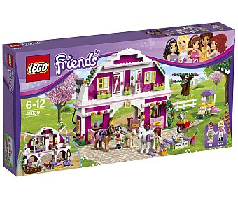 LEGO Play Set Friends El Rancho Soleado, Modelo 41039 1 Unidad