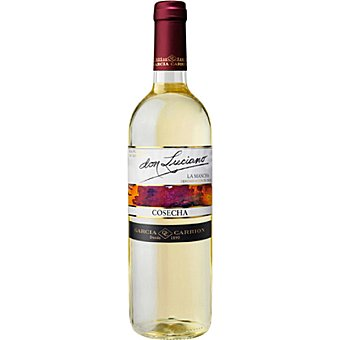 DON LUCIANO Vino blanco D.O. La Mancha  botella 75 cl