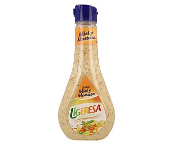 Ligeresa Salsa de miel y mostaza 450 ml