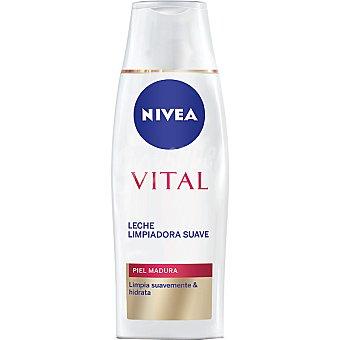 Nivea Leche limpiadora rehidratante piel madura Vital Frasco 200 ml