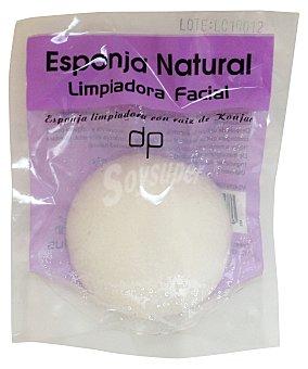 Deliplus Esponja facial exfoliante  1 u