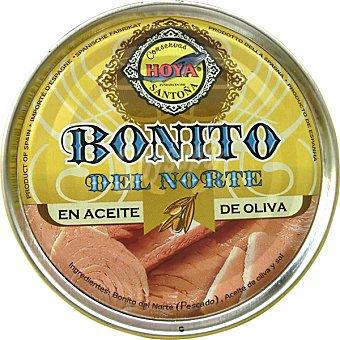 Hoya Bonito del norte en aceite de oliva Lata 150 g neto escurrido
