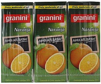 Granini Néctar de naranja Pack de 3