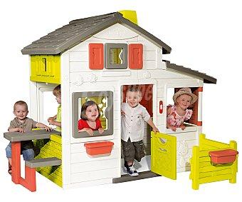 SMOBY Friends House Casita infantil de jardín, 217x171x172cm., Friends House SMOBY.