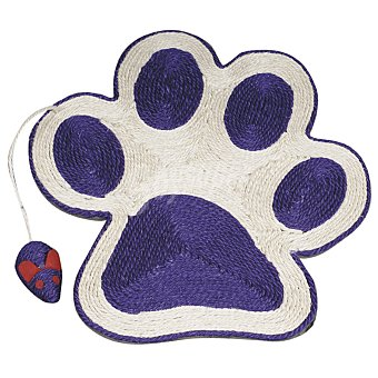 ARQUIVET Rascador para gatos Huella Lila 40 cm