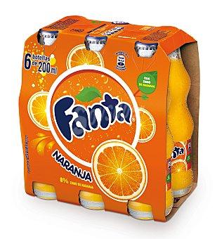 Fanta Fanta Naranja Botella Vidrio (pack 6x20cl) 6 ud
