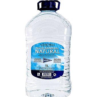 Hipercor Agua mineral natural Garrafa 5 l