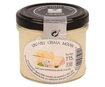 ALTA COCINA Mousse untable a los 4 quesos Frasco de 115 g