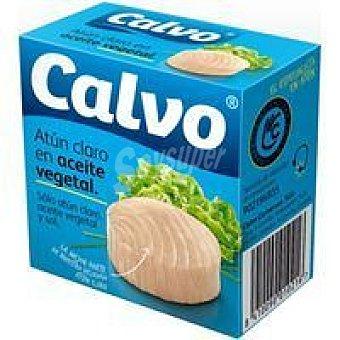 Calvo Atún claro en aceite Girasol Lata 80 g