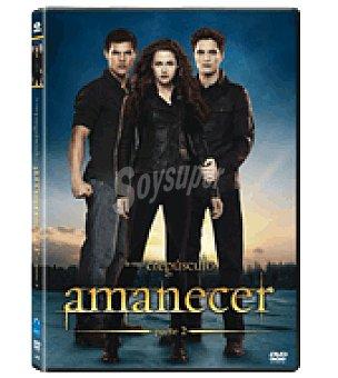 Amanecer parte 2 DVD