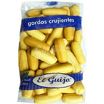 El Guijo Picos de pan gordos crujientes con aceite de oliva Bolsa 125 g