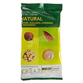 Eroski Mezcla de frutos secos naturales Bolsa 200 g