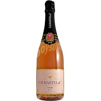 G.H.MARTEL Champagne rose brut botella 75 cl 75 cl