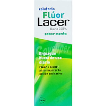 Lacer Colutorio diario de menta Botella 500 ml